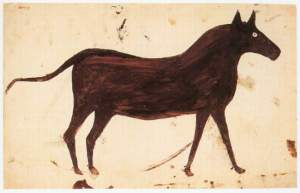 Bill Traylor- Brown Mule