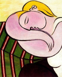 Woman with Yellow Hair (1931)- Pablo Picasso