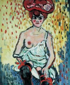 Maurice de Vlaminck, The Girl from the Rat Mort, 1905