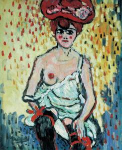 Maurice de Vlaminck, The Girl from the Rat Mort, 1905