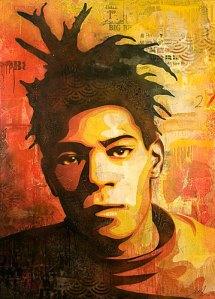 Jean-Michel Basquiat- Shepard Fairey