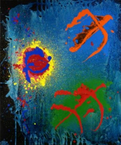 Painting Poems- John Hoyland