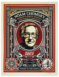 Noam Chomsky- Shepard Fairey