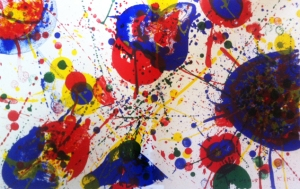"Sam Francis ""Untitled, From One Cent Life"