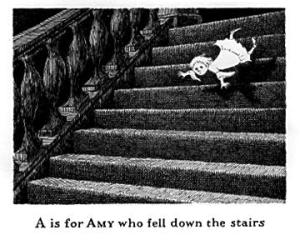 Edward Gorey- From The Gashlycrumb Tinies: A Very Gorey Alphabet Book