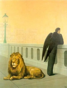 Le Mal du Pays By Rene Magritte