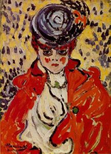 Portrait of a Woman 1905- Maurice de Vlaminck