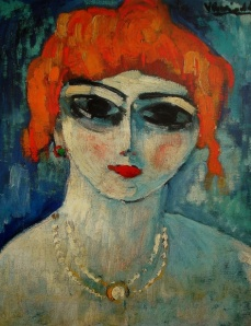 Portrait of a Woman- Maurice de Vlaminck