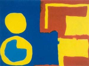 Hard Reds, Yellow and Blues- Patrick Heron