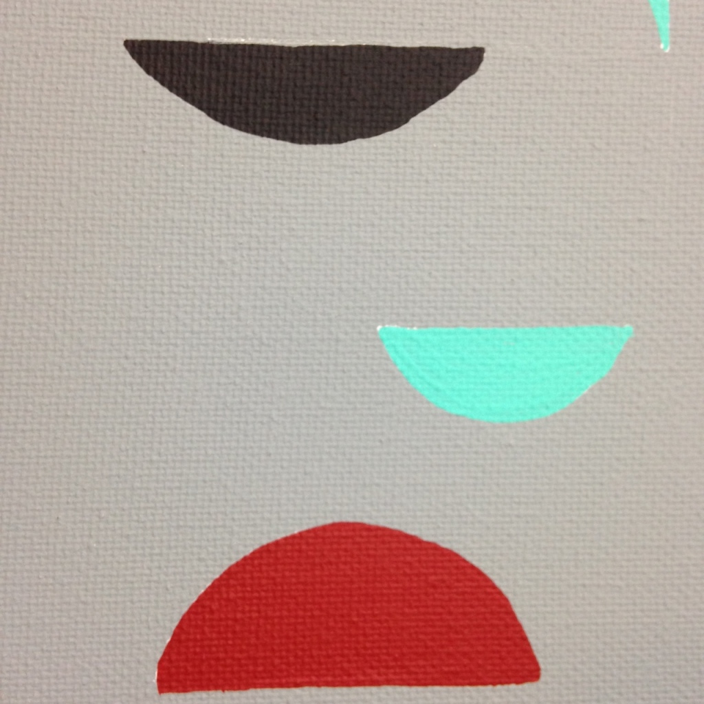 Close-Up 3 Untitled 124- Tribute to Tomás Maldonado Linda Cleary 2014 Acrylic on Canvas
