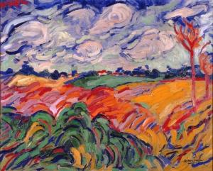 The Wheat Field- Maurice de Vlaminck