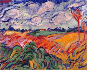 The Wheat Field- Maurice de Vlaminck
