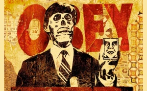 They Live- Shepard Fairey