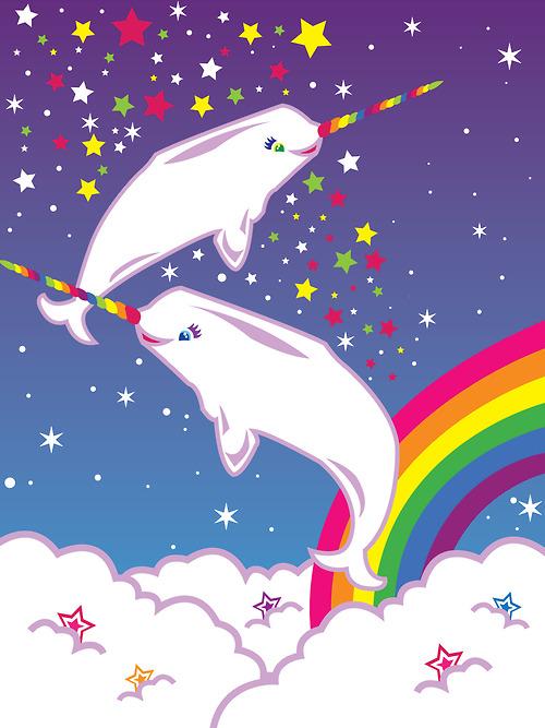 Day 123 Lisa Frank Unicorns Rainbows Puppies and