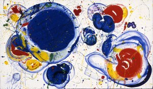 Untitled 183- Sam Francis
