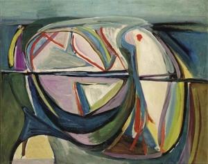 Untitled 1948- Bram Van Velde