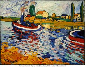 Tugboat on the Seine- Maurice de Vlaminck