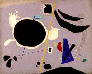 Gesto Cosmico- Willi Baumeister 1950