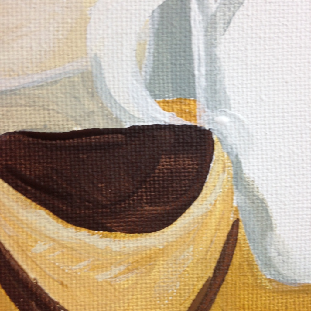 Close-Up 2 Natura Morta I- Tribute to Giorgio Morandi Linda Cleary 2014 Acrylic on Canvas