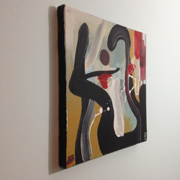 Side-View Daylight- Tribute to James Brooks Linda Cleary 2014 Acrylic on Canvas