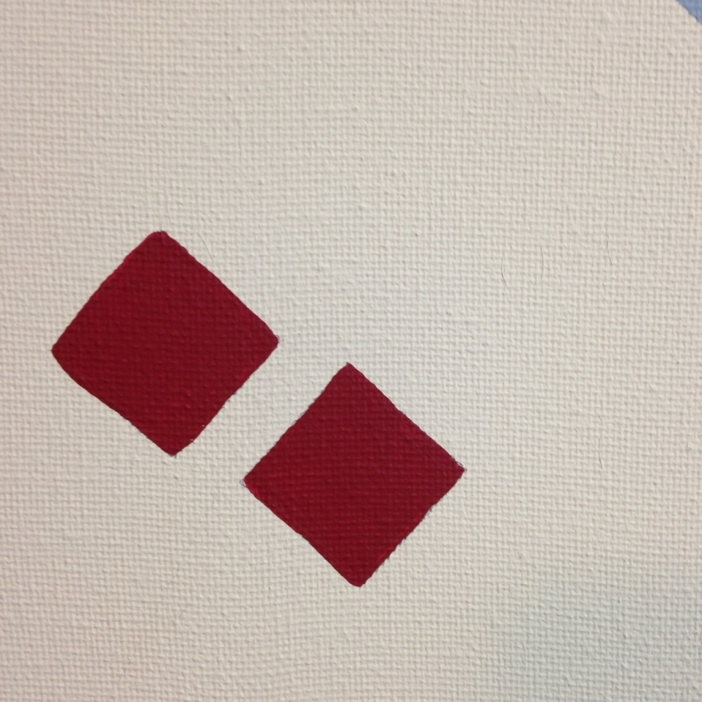 Close-Up 1 The Shape of Things- Tribute to El Lissitzky Linda Cleary 2014 Acrylic on Canvas