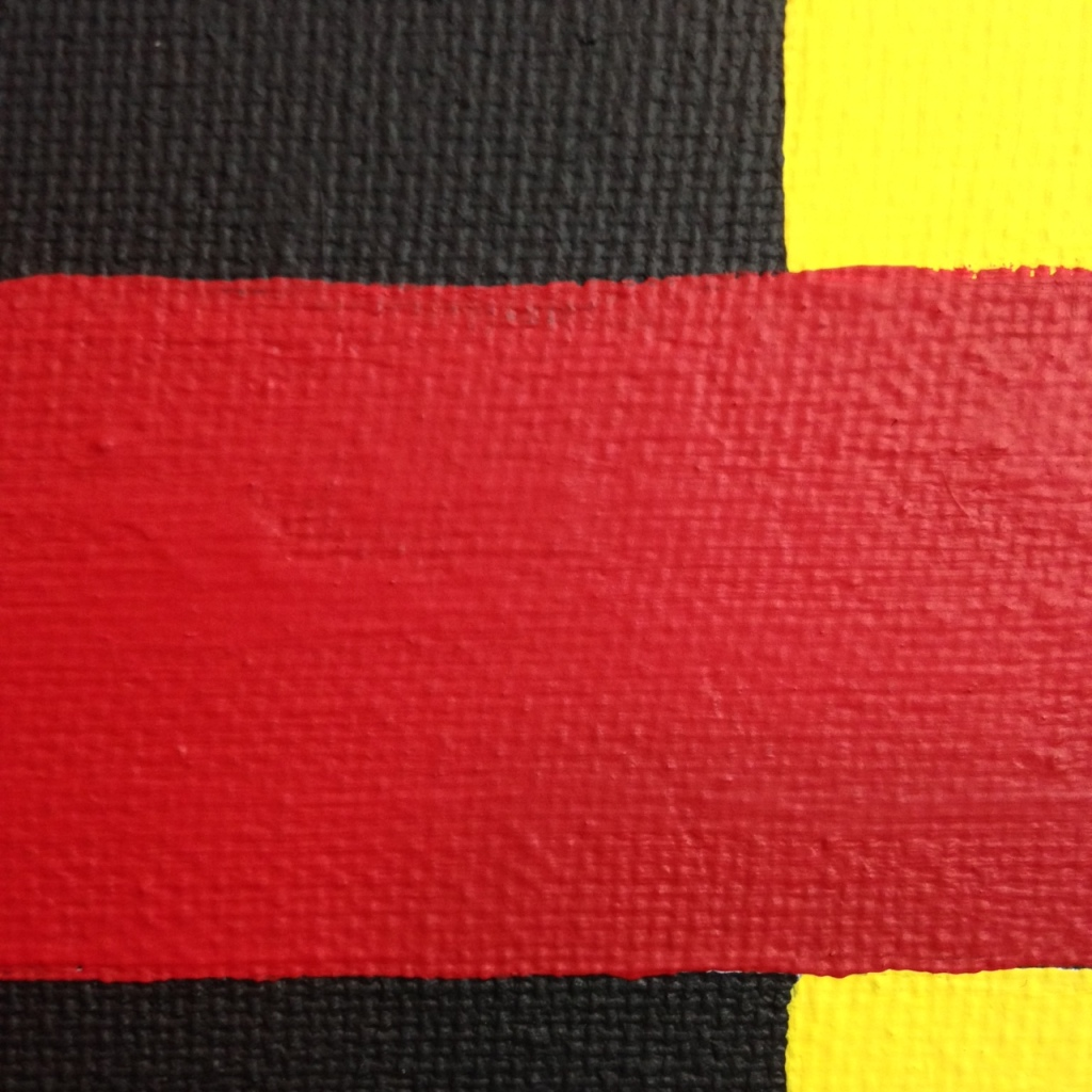 Close-Up 3 Go Home- Tribute to Thornton Willis Linda Cleary 2014 Acrylic on Canvas