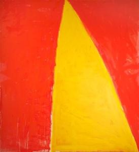 Razorback, oil on canvas, 92 15/16 x 100 in.