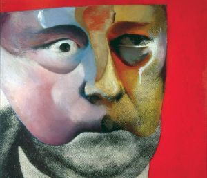 Richard Hamilton's Portrait of Hugh Gaitskell as a Famous Monster of Filmland.