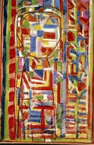 Garden by Roger Bissiere, 1946, (1888-1964)