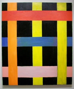 Thornton Willis, Black Warrior, 2008, 70 x 59 inches, oil on canvas
