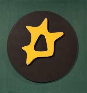 Jean Arp, De continent qui aurait ..., Executed circa 1964-1966. Painted wood relief, 37 x 34.5 cm.