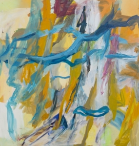 "Early Spring 2013 Oil on canvas 63x59.75"" / 152.4x160cm"