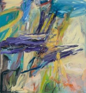 "The Wave 2013 Oil on linen 66x61"" / 167.6x154.9cm"
