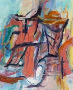 "Apparatus 2013 Oil on canvas 78x63"" / 198.1x160cm"