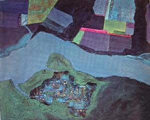 Night Landing Sambura- Jane Frank