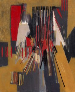 Sans titre, 1957 Oil on canvas