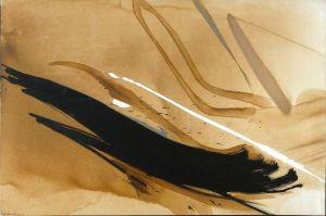 L'amant cachalot, circa. 1990 Oil on canvas