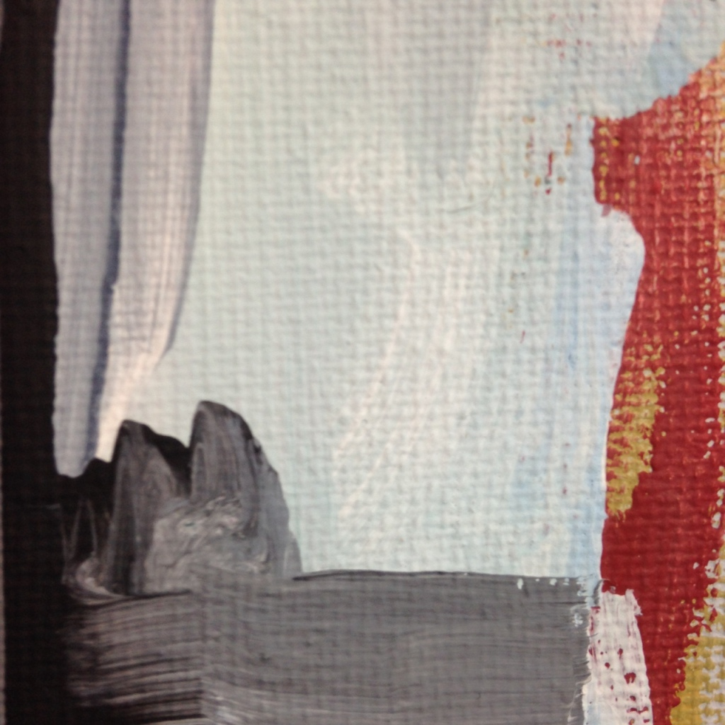 Close-Up 2 Bridge- Tribute to Gertrude Greene Linda Cleary 2014 Acrylic on Canvas