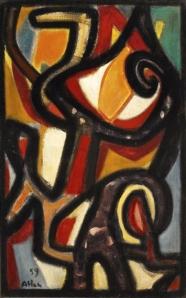 Untitled 1959- Jean Michel Atlan