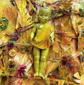 Close Up- Beginning of Life in Yellow Jungle- Thornton Dial