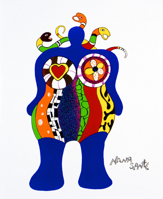 niki de saint phalle day of the artist. Black Bedroom Furniture Sets. Home Design Ideas