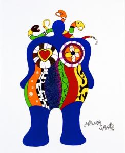 Niki de Saint Phalle, Nana Santé, 1999, © 2007, NIKI CHARITABLE ART FOUNDATION, All rights reserved, Photograph Michael Herling.