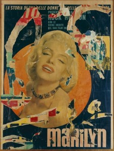 Marilyn 1963- Mimmo Rotella