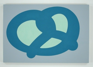 Blue Pretzel- Carl Ostendarp