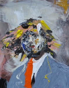 Davey, 2012 Oil on Wood 16 x 20