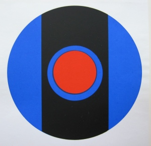 Socrate, Silkscreen of 1964 after a painting of 1962