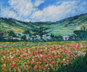 Poppy Field near Giverny 1885- Claude Monet