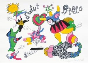 Salut Pablo - Niki de Saint Phalle