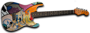 Stratocaster guitar by Crash