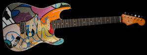 Stratocaster guitar by Crash